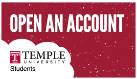 Temple Open an Account